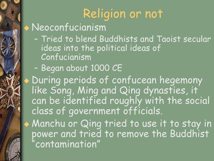 Religion or not