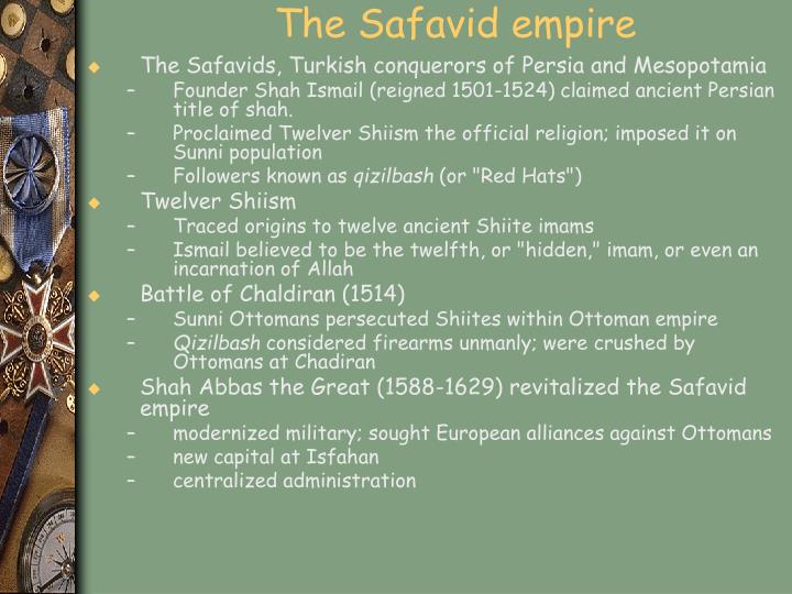 The Safavid empire