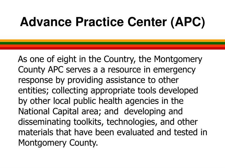 Advance Practice Center (APC)