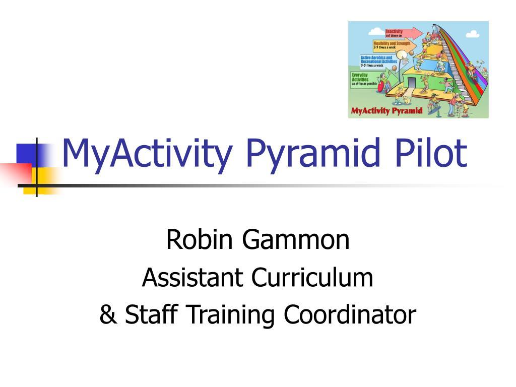 MyActivity Pyramid Pilot