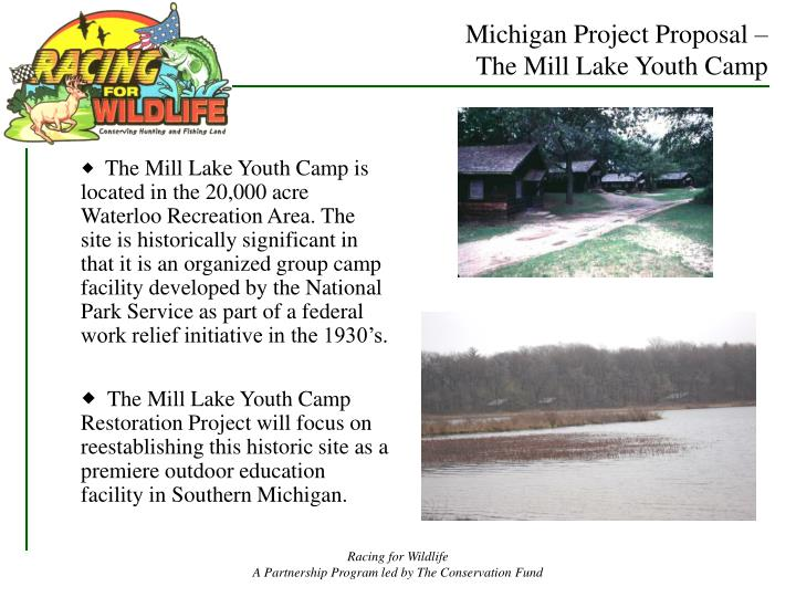 Michigan Project Proposal –