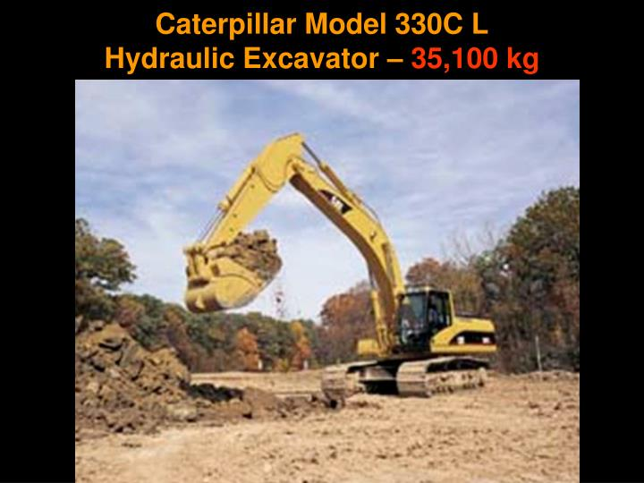 Caterpillar Model 330C L