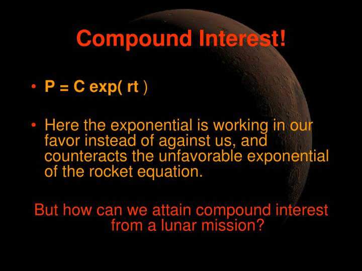 Compound Interest!