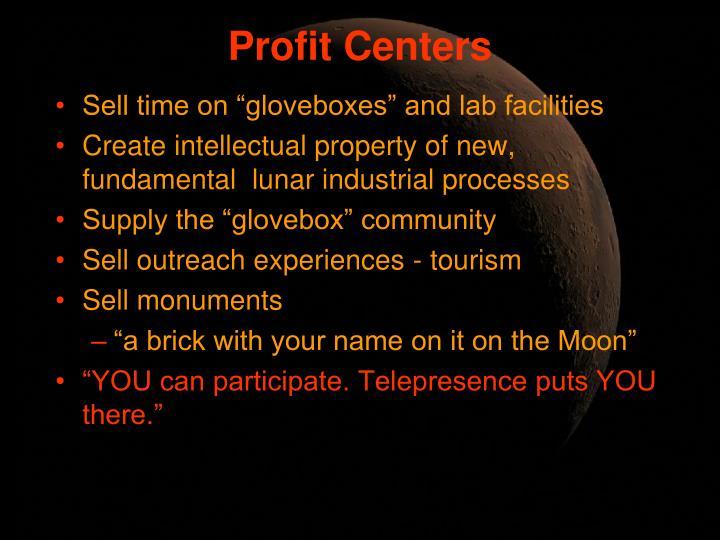 Profit Centers