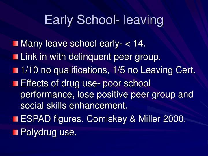 Early School- leaving