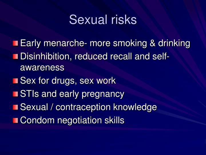Sexual risks
