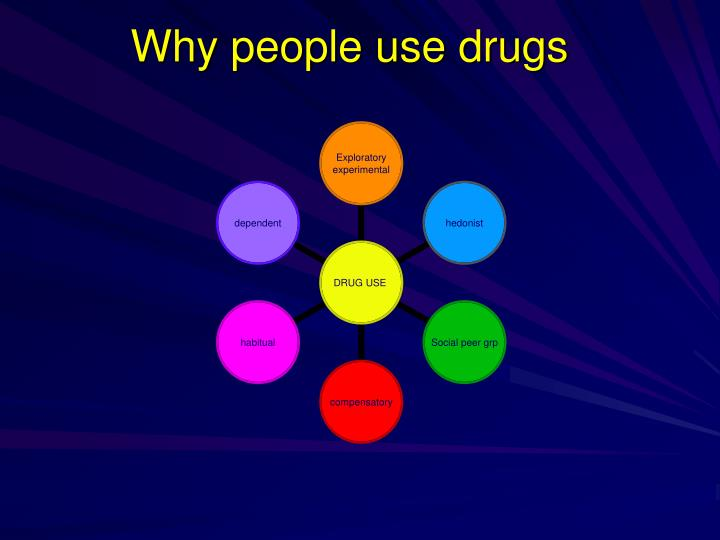 Why people use drugs