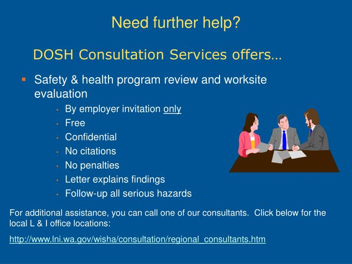 DOSH Consultation Services offers…