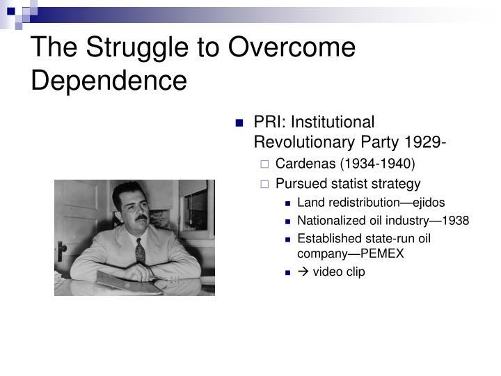 The Struggle to Overcome Dependenc
