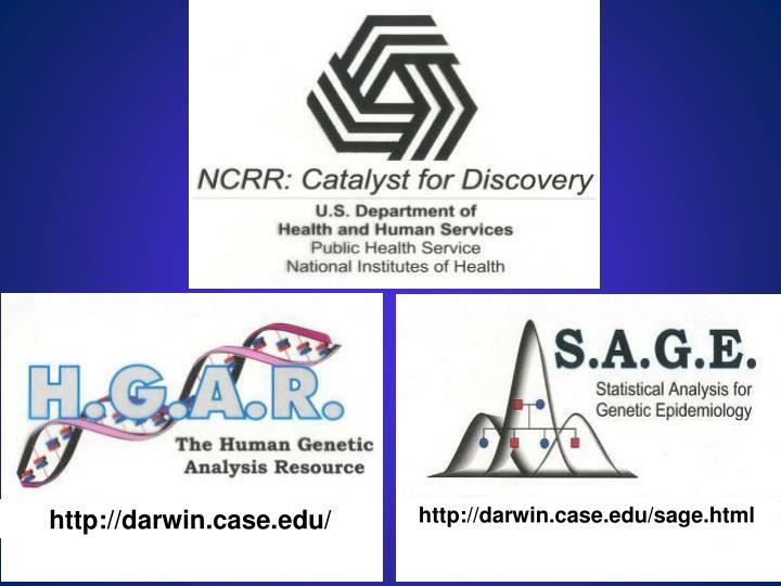 http://darwin.case.edu/sage.html