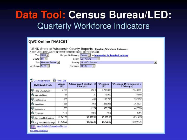 Data Tool: