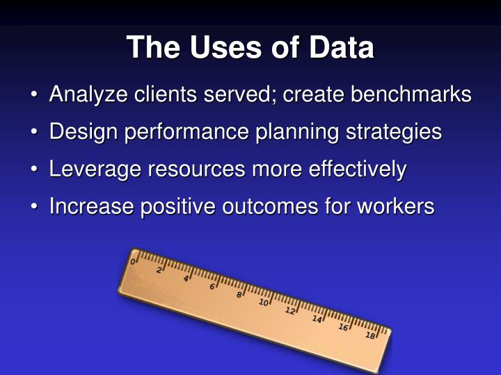 The Uses of Data