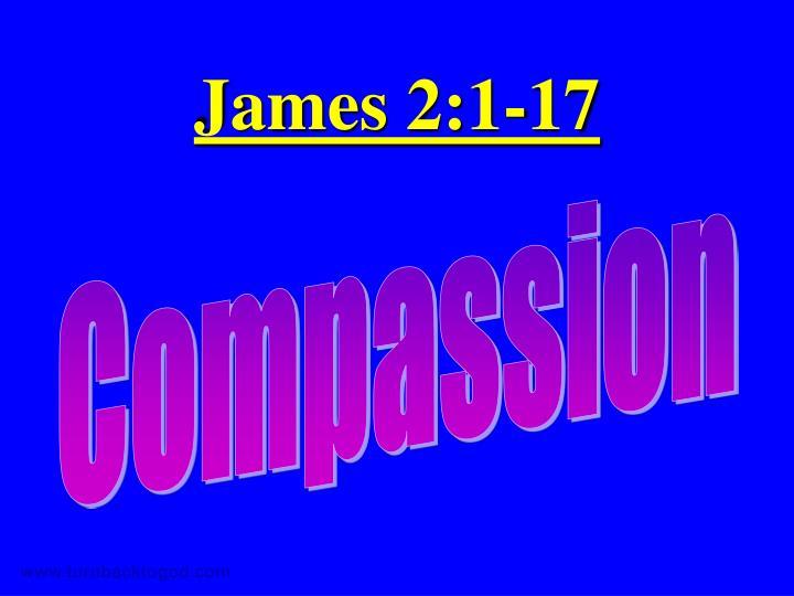 James 2:1-17
