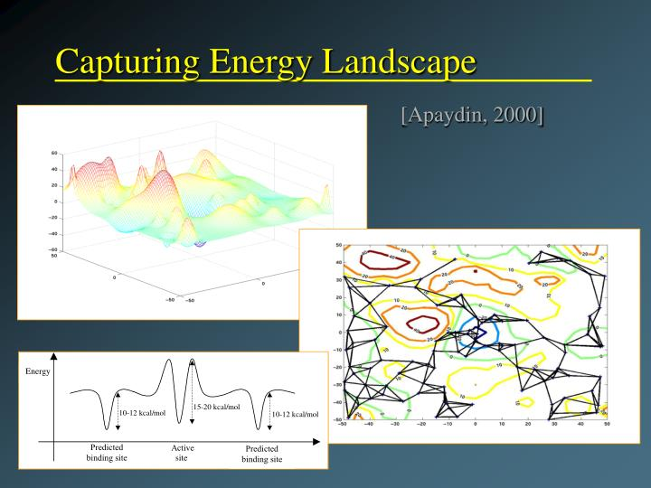 Capturing Energy Landscape