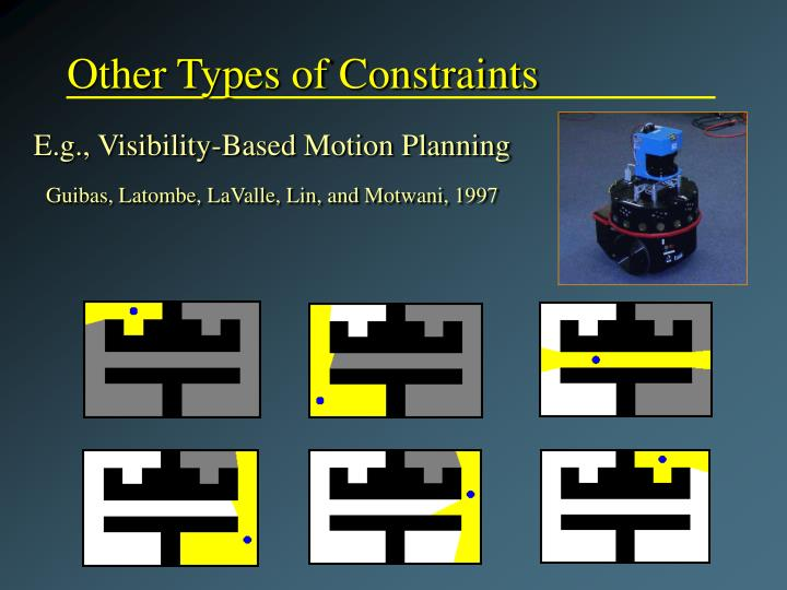 Other Types of Constraints