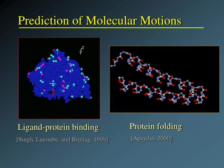 Prediction of Molecular Motions