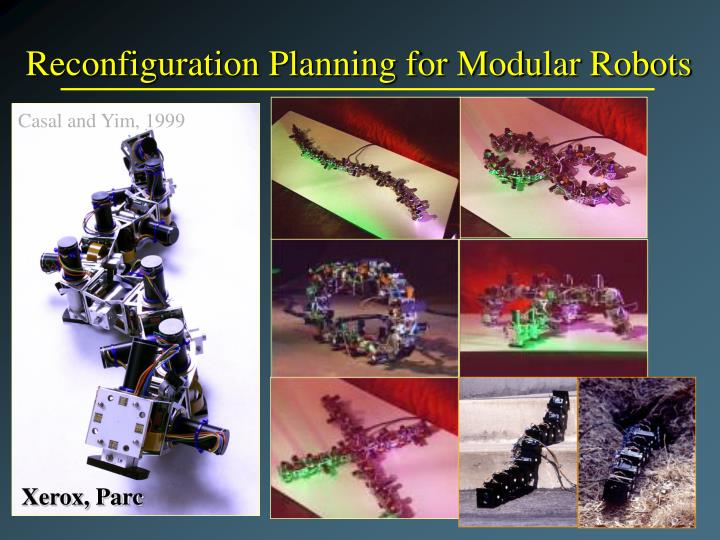 Reconfiguration Planning for Modular Robots