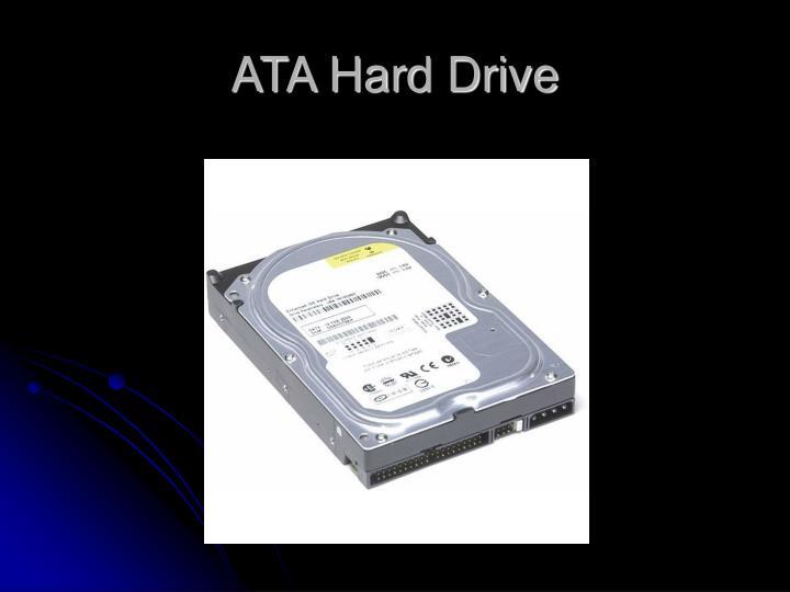 ATA Hard Drive
