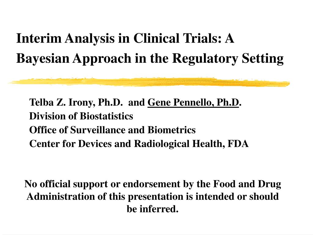 Interim Analysis in Clinical Trials: A Bayesian Approach in the Regulatory Setting