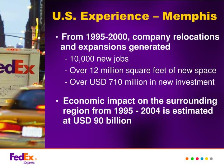 U.S. Experience – Memphis