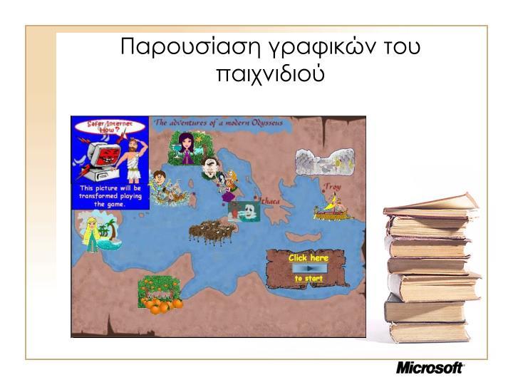 Παρουσίαση γραφικών του παιχνιδιού