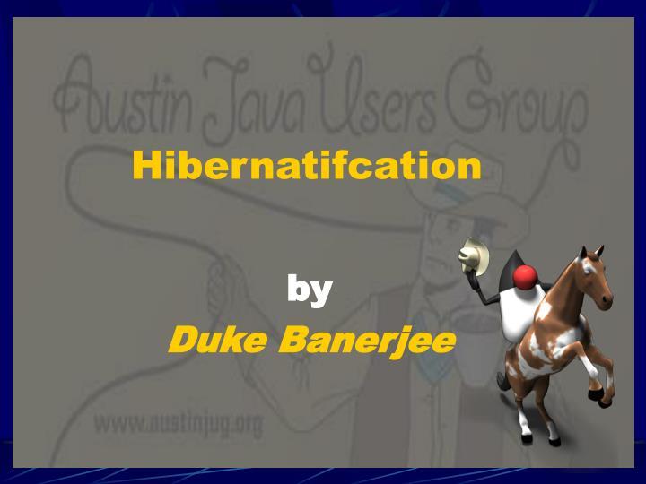 Hibernatifcation