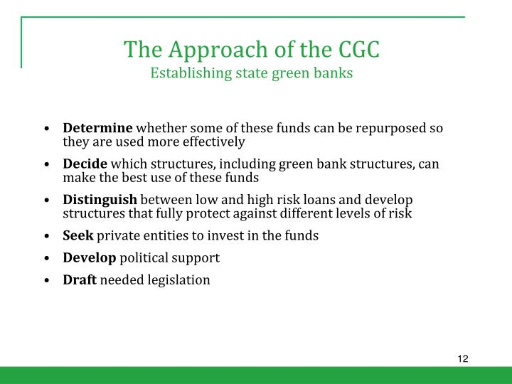 The Approach of the CGC