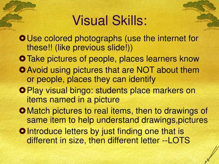 Visual Skills: