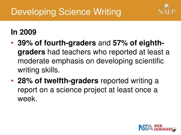 Developing Science Writing