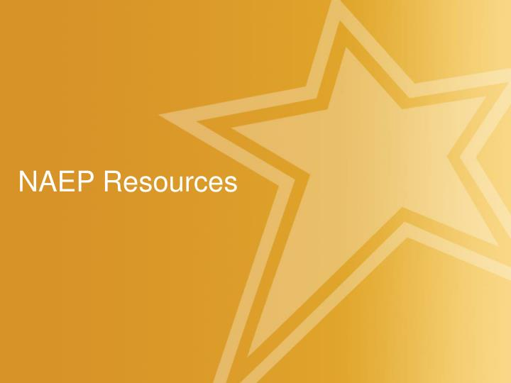 NAEP Resources