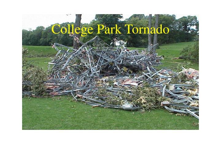 College Park Tornado