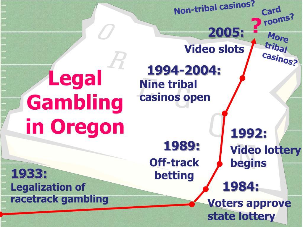 Non-tribal casinos?