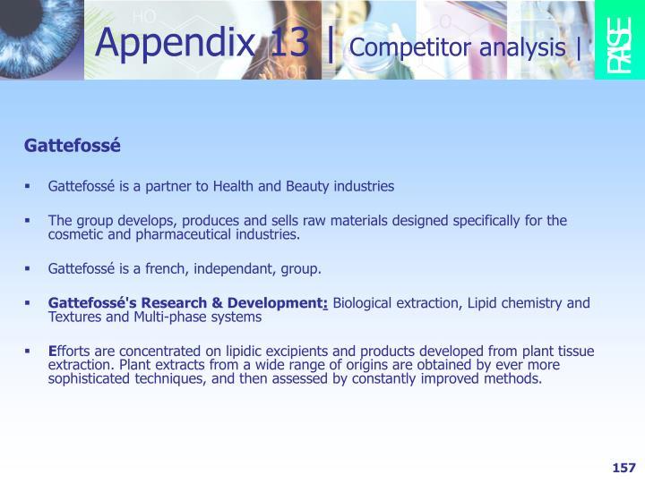 Appendix 13 |