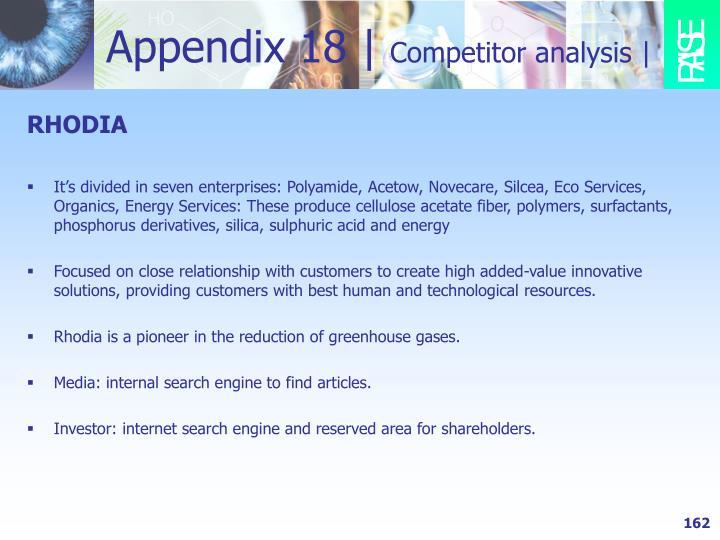 Appendix 18 |