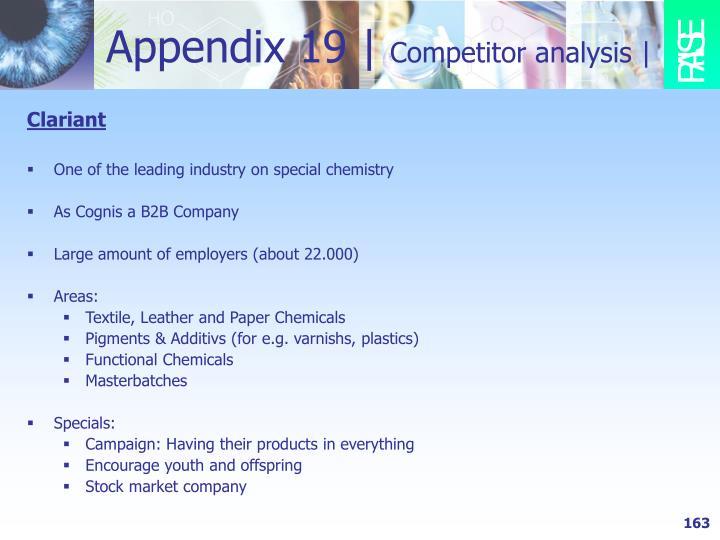 Appendix 19 |