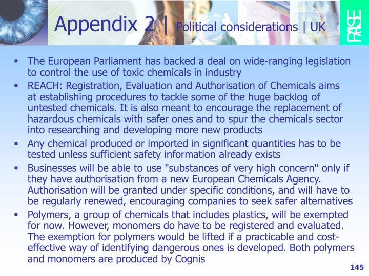 Appendix 2 |