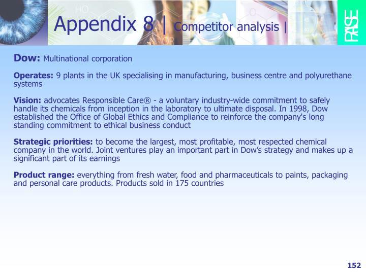Appendix 8 |