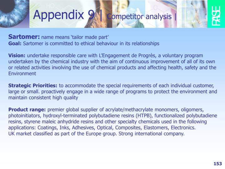 Appendix 9 |