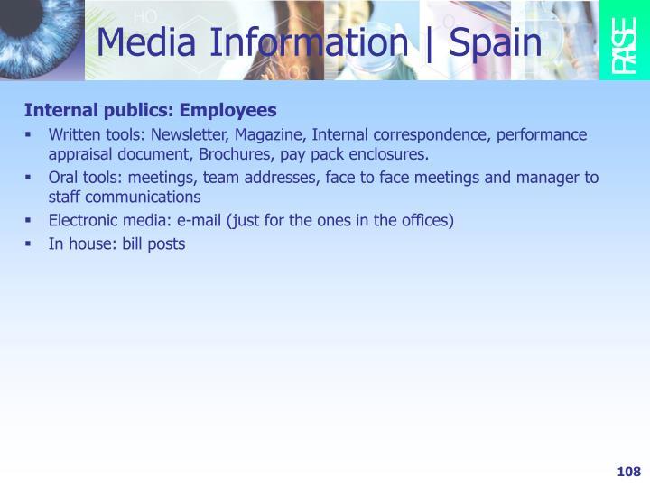 Media Information | Spain