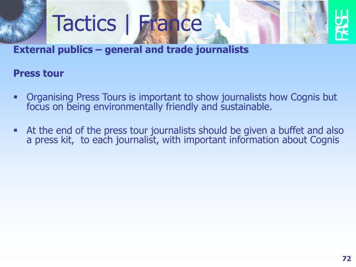 Tactics | France