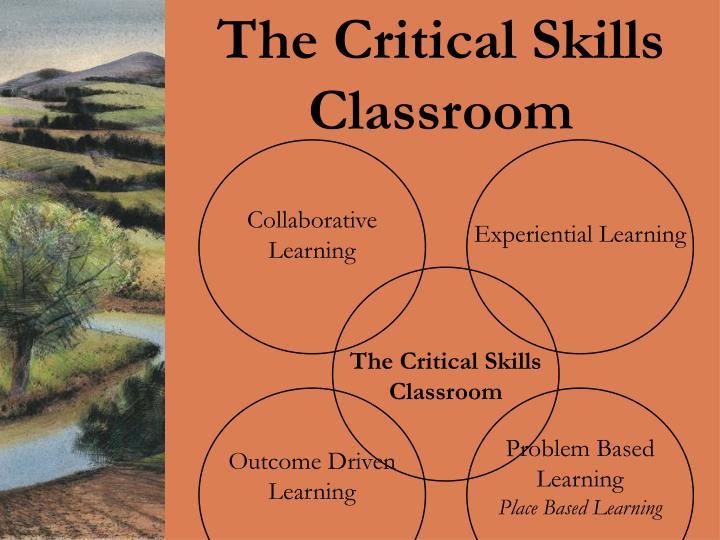The Critical Skills Classroom