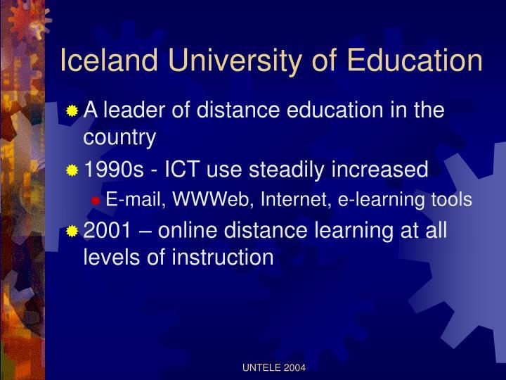 Iceland University of Education