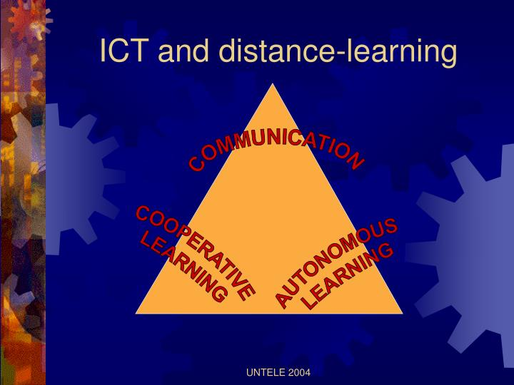 ICT and distance-learning