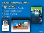 logo program retail promotion