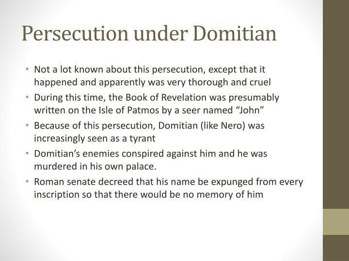 Persecution under Domitian
