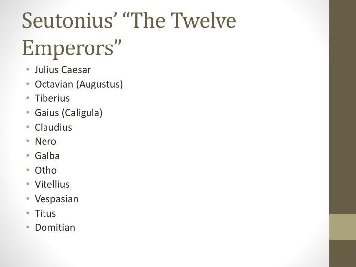 Seutonius