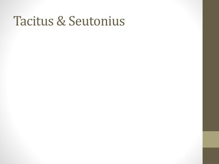 Tacitus &