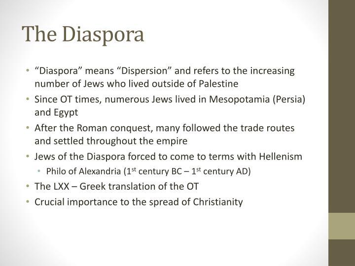 The Diaspora