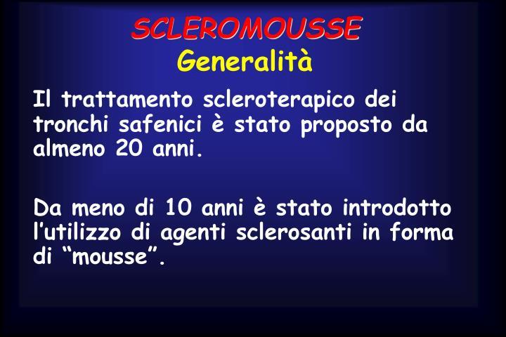 SCLEROMOUSSE