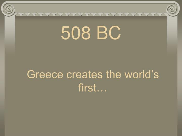 508 BC